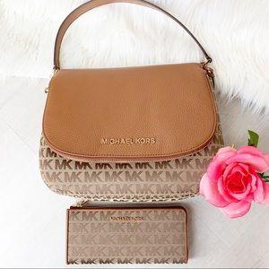 NEW Michael Kors Bedford Crossbody Bag and Wallet